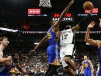 NBA'de ilk finalist Golden State Warriors