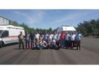 Batman'da ambulans sürücülerine eğitim