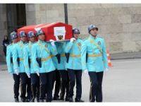 18. Dönem İçel Milletvekili Ekin Dikmen için Türkiye Büyük Millet Meclisi'nde tören düzenlendi