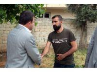 Hüda-Par'dan Silopi'deki acılı aile ziyaret
