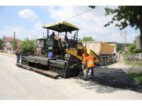 Akyazı'da asfalt çalışmaları tüm hızıyla sürüyor