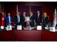 Erbil Vali Yardımcısı ve beraberindeki heyet Hıdıroğlu'nu ziyaret etti