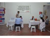 Bornoz fabrikasında kök hücre bağışı