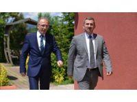 Başsavcı Bozkurt'tan Rektör Uzun'a iade-i ziyaret