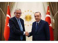 Cumhurbaşkanı Erdoğan, Carl Bildt'i kabul etti