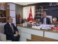 Şehit babasından başkan Şahiner'e ziyaret