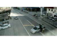Trabzon, Giresun ve Gümüşhane'deki ilginç kazalar MOBESE'de