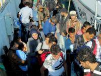 Çeşme'de 58 sığınmacı yakalandı