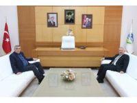 Başkan Toçoğlu, TÜVASAŞ Müdürünü ağırladı