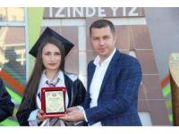 Çan Anadolu Lisesi 128 öğrenciyi mezun etti