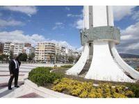 Karşıyaka'nın simgesi 'Anıt' yenileniyor