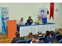 """Kırklareli'de """"Kurumsallaşma ve Sermaye Piyasalarına Giriş"""" paneli"""