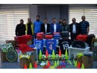 Başkan Bakıcı'dan amatör spor kulüplerine malzeme yardımı