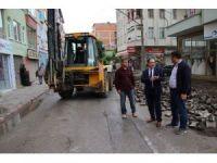 Bafra'da 100 bin ton asfalt hedefi