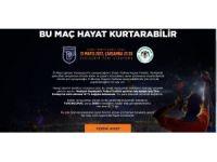 Başakşehir'den kupa finalinde örnek hareket