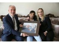 Belediye Başkanı Kamil Saraçoğlu'ndan Oğuzhan'a sürpriz ziyaret