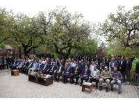 Ahlat'ta hafızlık Kur'an kursu için temel atma töreni
