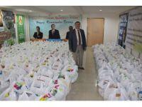 Amasya Belediyesi ile Hayatcan'dan 3 bin Ramazan paketi