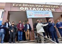 Başkan Hazinedar, Fatsa'daki TÜBİTAK Bilim Fuarı'na katıldı