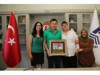 Başkan Kocadon'a özel öğrencilerden teşekkür