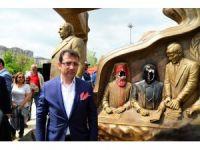 """Başkan İmamoğlu'ndan Yaşam Vadisi'ndeki """"heykel"""" saldırısıyla ilgili açıklama"""