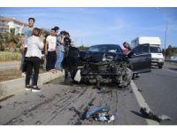 Bahçeli'nin konvoyunun geçişi sırasında korkutan kaza