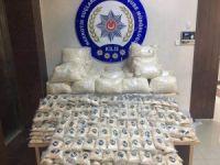 Kilis'te 1 milyon 878 bin adet uyuşturucu hap ele geçirildi