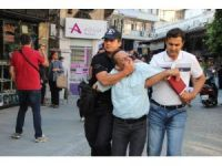Hatay'da izinsiz gösteri yapmak isteyen 18 kişi gözaltına alındı