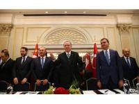 Cumhurbaşkanı Erdoğan, Avrupalı Türk Demokratlar Birliği heyetiyle buluştu