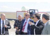 Başkan Duruay'dan Mogan Gölü temizlik alanında inceleme