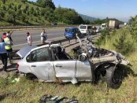 Düzce'de feci kaza: 4 ölü
