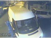 Bıçaklı hırsızlar market sahibine saldırdıktan sonra dükkanı böyle soydu
