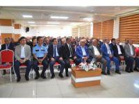 Bafra'da muhtarlarla güvenlik toplantısı