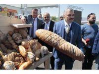 Kent Ekmek Üretim Tesisleri açıldı