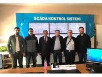 MARSU bürokratları, SASKİ'nin yatırımlarını yerinde inceledi