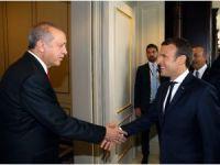 Cumhurbaşkanı Erdoğan, Fransa Cumhurbaşkanı ile görüştü