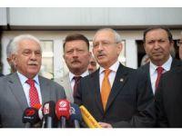Kılıçdaroğlu, Vatan Partisi'ni ziyaret etti