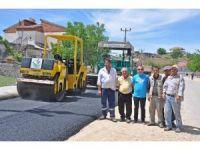 Gölbaşı ilçesinde asfaltlama çalışmaları yapıldı