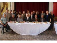 Öğrenciler Başkan Karaçoban'ı kahvaltıda ağırladı