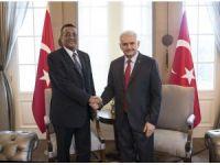 Başbakan Yıldırım, Sudan Cumhurbaşkanı Yardımcısı Hamid ile görüştü