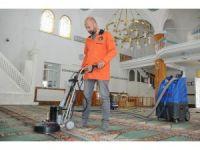Çorum Belediyesi'nden camilerde Ramazan temizliği