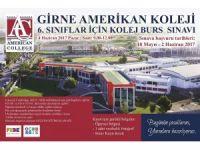 Amerikan Koleji 6. Sınıf Burs Sınavı 4 Haziran Pazar günü