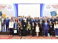 Milli Eğitim Bakan Yardımcısı Erdem, EBA Yarışmaları ödül törenine katıldı