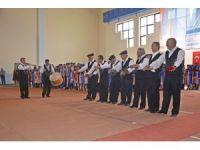 Sungurlu MYO mezuniyet sevinci