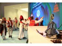Borsa'da gongu Türk dünyası çocukları çaldı