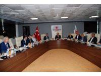 Adıyaman'da  6. Ekonomi Koordinasyon toplantısı yapıldı