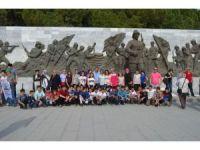Kargı YBO öğrencileri Çanakkale'yi gezdi