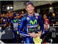 Rossi kaza geçirdi