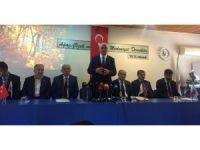 """Başkan Tatlıoğlu: """"Türkiye'nin ekonomisine can verecek mermer OSB için teşvik verilmeli"""""""