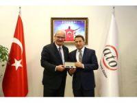 Siirt heyeti ATO Başkanı Gürsel Baran'ı ziyaret etti